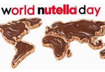 Прославете го светскиот ден на Нутела