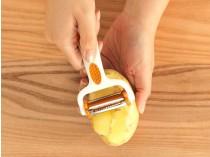 Brava Click'n'Peel Ноже за лупење 3во1