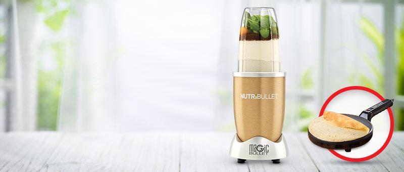 Вкусно и здраво - Nutribullet Gold со ПОДАРОК!