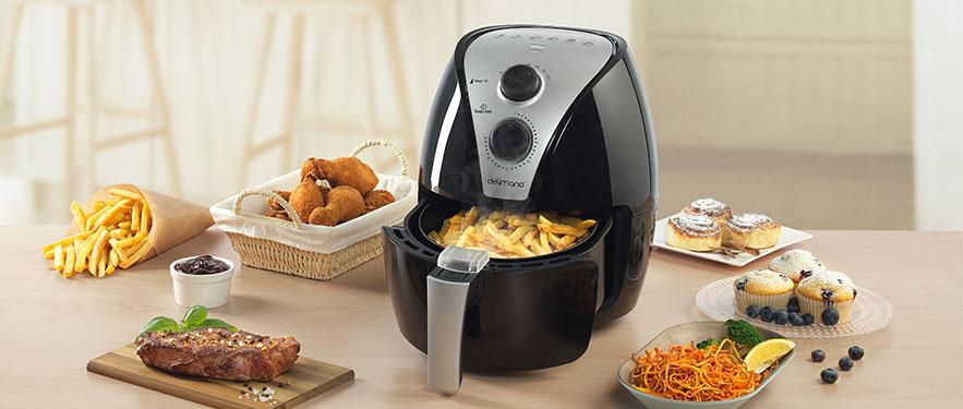 Air Fryer Апарат за готвење со топол воздух
