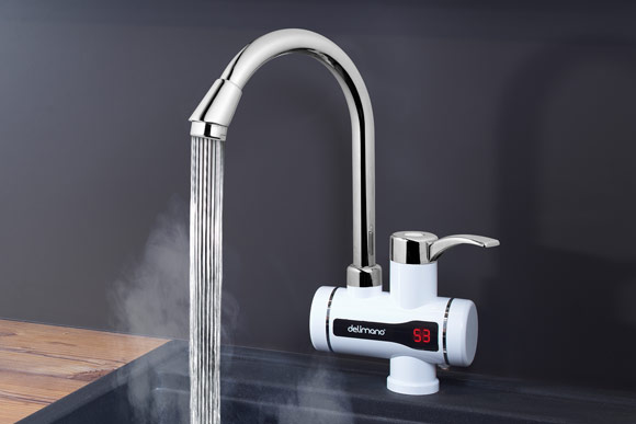 Delimano Instant Water Heating Faucet - Проточен бојлер